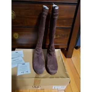 UGG Tall Clog Boots, Size 9